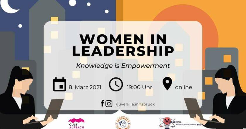 Women in Leadership – Knowledge is Empowerment Teil 2
